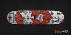 Rad Skateboard Designs by Alex Kurchin Shape Design, Love Design, Design Art, Graphic Design, Longboard Design, Skateboard Design, Skateboards, Digital Illustration, Creative Design