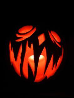 Jack-o-lantern by Ann - 2012