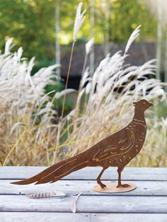 Can't wait to get the garden all ship shape and buy this little fella #coxandcox #rusty #pheasant