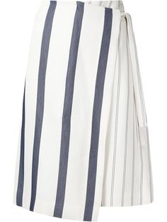 Shop Grey Jason Wu striped wrap skirt  in GREY Jason Wu from the world's best independent boutiques at farfetch.com. Shop 400 boutiques at one address.