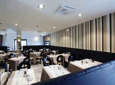 Restaurant interior design furnishings by en.marchi-contract.com/restaurants-fast-food.php