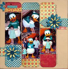 Friendly Donald - Scrapbook.com