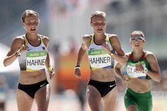 German Hahner twins compete in Rio marathon