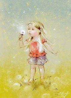 Dandelion Blower ~ Catherine Babok