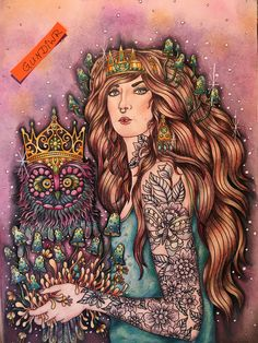 Hanna Karlzon's Magisk Gryning (Magical Dawn) - Lady? with Queen of the Owls?