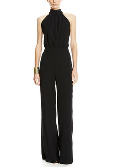 On ideel: A.B.S. BY ALLEN SCHWARTZ Halter Neck Jumpsuit