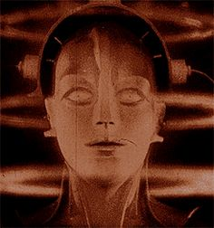 "Robot transformation from the film ""Metropolis"" (1927)"