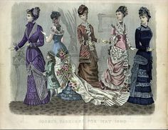Tonics Elixer: Victorian Fashion Plates, if you please!