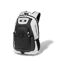 Oakley Men's Streetman Pack, White, One Size Oakley. $65.00. 100% Polyester. Dual skate straps. 27L capacity and 15 inch laptop sleeve. Water bottle pocket. Fleece lined eyewear pocket. Hand Wash
