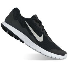 Nike Flex Experience Run 4 Men's Running Shoes ($70) ❤ liked on Polyvore featuring men's fashion, men's shoes, men's athletic shoes, black dark gray, mens lightweight running shoes, mens running shoes, nike mens athletic shoes, mens athletic shoes and nike mens shoes