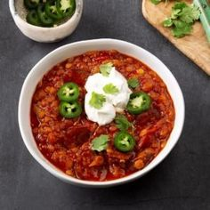 This is a nice warming soup on a chilly day. Lentils are so good for you, too! —Mary Smith, Columbia, Missouri Bean Soup Recipes, Chili Recipes, Shrimp Chowder, Split Pea Soup Recipe, Dirty Rice, Bean Stew, Dried Beans, Potato Soup, Pressure Cooking