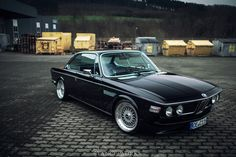 StanceWorks Wallpaper - Christian Heine's BMW E9 3.0 CSi