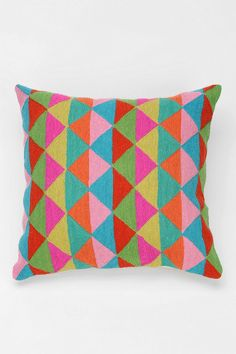 Magical Thinking Prism Pillow #urbanoutfitters