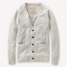 I can never find a nice ladies cardigan with pockets. jack wills latchmere cardigan