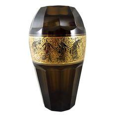 Große Vase mit oroplastischen Fries, Joh. Oertel, Haida