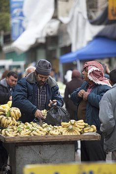 Bananas. Hebron. Israel
