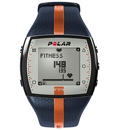POLAR Sportuhr FT4M Blue Orange, 0725882019925 - http://uhr.haus/polar/blue-orange-polar-damen-herzfrequenzmessger-t