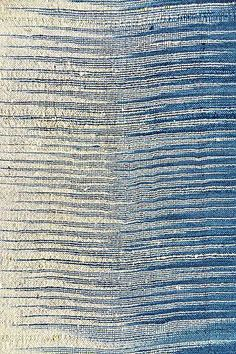 """Clothroads - ombre woven scarf. Repinned by Libby VanBuskirk to """"Weavings and Fiber Arts,"""" my favorites. No wonder if it was picked by Clothroads!"""