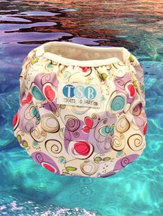 Blobs & Spots Lunch Box, Swimming, Swim, Bento Box