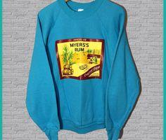 Vintage Myers's Jamaican Rum Crewneck Sweatshirt
