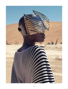Christoph Köstlin - those without Shadows // 08 // Namibia // Sossusvlei // desert editorial // fashion editorial // black skin // fashion model // african model // south africa