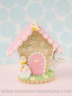 3D Bird House 1 Cookie Cutter Set by 3DCookieCutterShop on Etsy
