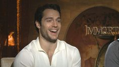 Henry Cavill - putting on his Superman costume for the first time
