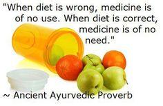 Let food be thy medicine.