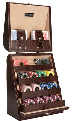 COOL GIFT FOR THAT GAMBLING MAN (OR WOMAN!) Poker set @Barneys New York