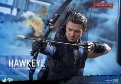 Captain America: Civil War Hot Toys (Hawkeye)