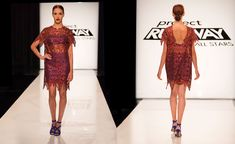 Season 4, Episode 4 Final Looks - Project Runway All Stars Pictures - Judges loved this.  Don't get it.