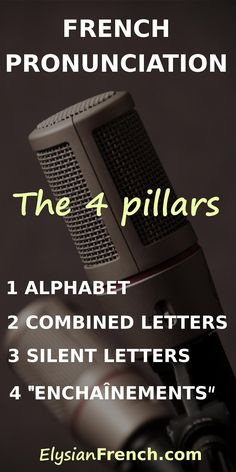 Master French pronunciation early on, and speaking French will be a walk in the park. Here are the 4 pillars of French pronunciation! French Language Lessons, French Language Learning, French Lessons, French Tips, French Teacher, French Class, Teaching French, Learn French Fast, How To Speak French