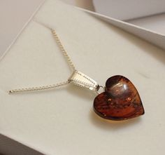 Your place to buy and sell all things handmade Baltic Amber Necklace, Sterling Silver Chains, Valentines Day, Pendant Necklace, Board, Handmade, Gifts, Etsy, Jewelry