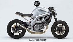 Suzuki SV650 Tracker Render