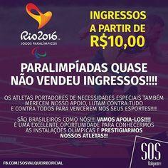BLOG JUIZ DE FORA SEGURA: Paralimpíadas Rio 2016 de 07 a 18 de setembro - UM...