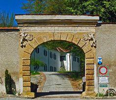 Eastern Styria, Austria | Gate to the castle Paar in Hartberg / East Styria / Austria