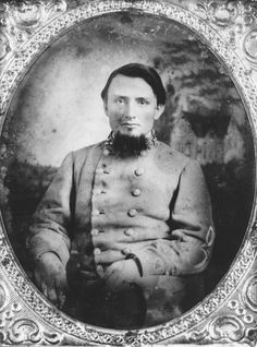"Col. Vannoy Hartog ""Van"" Manning, colonel of the 3rd Arkansas Infantry."