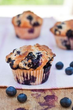 Gwyneth's Blueberry Muffin and 6 Blueberry Muffin-esque Recipes - foodiecrush