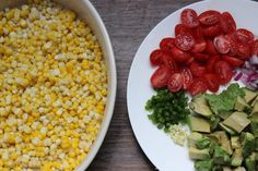 easy summer recipes, corn salad, salad recipes under 10 minutes