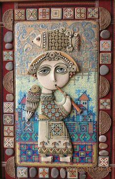 Miniaturas Armenias (V) Tsolak Shahinyan Kusan - trovador armenio