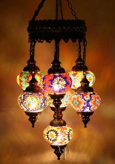 Turkey . . . .Mosaic Chandelier