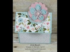 Peek-a-Boo Creative Fold Card - STAMPING WITH LINDA