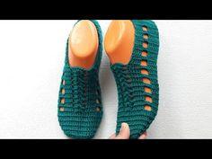 Crochet Shoes Pattern, Shoe Pattern, Crochet Blanket Patterns, Baby Knitting Patterns, Crochet Sandals, Crochet Slippers, Crochet Baby, Crochet Top, Knitting Videos