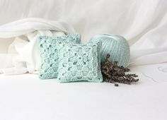 Crochet Lavender Sachets/ Eco Friendly Gifts / by sweetbamboo, $16.00
