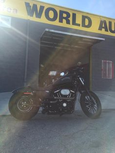 2014 ‪Harley Davidson‬ ‪Roadster‬  in for a few new upgrades. http://www.worldautola.com/