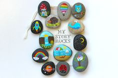 Fun and creative Story Stones and Painted Rocks