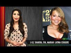 JLo, Shakira, Eva, Mariah: Latina Cougars... See video | http://RabbitsVox.com
