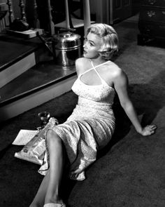 Marilyn filming The Seven Year Itch in 1954.