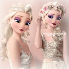 Modern Elsa Thank you so much for 40k everyone!! <3 Do you prefer the Elsa on the left or right?