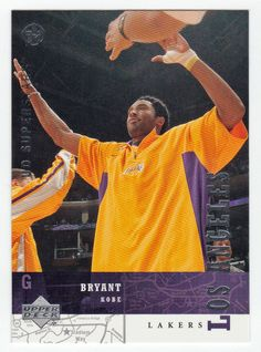 Kobe Bryant # 119 - 2002-03 Upper Deck Superstars Multi Sports Card - NBA Basketball